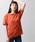 WEGO(ウィゴー)の「WEGO/デイリークルーネックビッグシルエットカットソー(Tシャツ/カットソー)」|ダークオレンジ