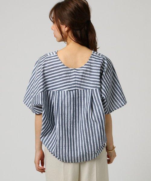マリーストライプシャツ