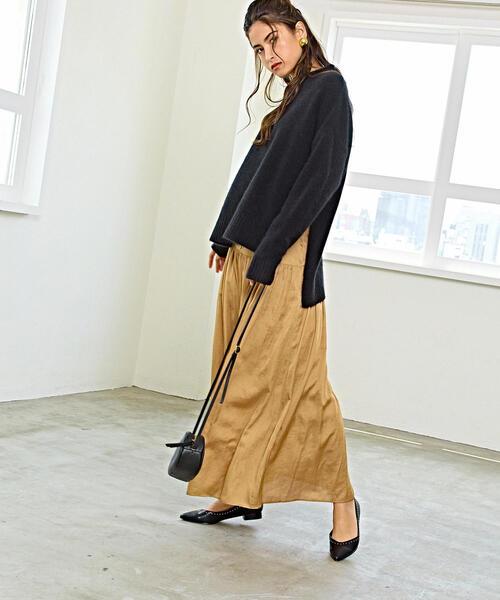 SMF T/C ギャザー マキシスカート