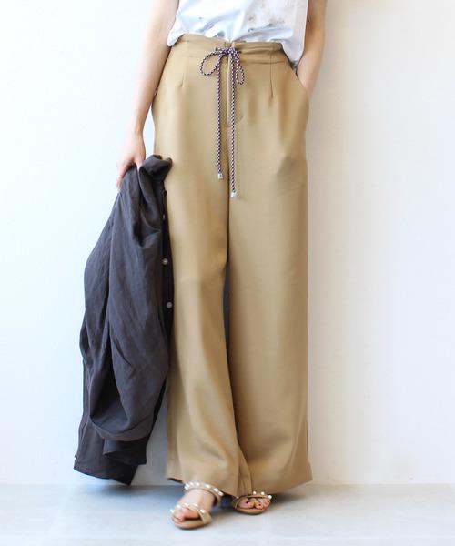 オープニング 大放出セール 【セール】color string string relax relax pants(カラーコード付きリラックスパンツ)(パンツ) DRESSLAVE(ドレスレイブ)のファッション通販, ぴったりマドラグ工房:1cdc86c2 --- pitomnik-zr.ru