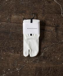HARUSAKU(ハルサク)のHARUSAKU / 足袋 Single Back Line Half Socks:ハルサクタビシングルバックラインハーフソックス(ソックス/靴下)
