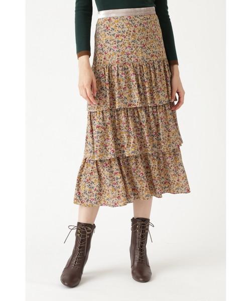 保障できる ウィリーフラワーティアードスカート(スカート)|JILLSTUART(ジルスチュアート)のファッション通販, 蕊取郡:c2b47347 --- skoda-tmn.ru