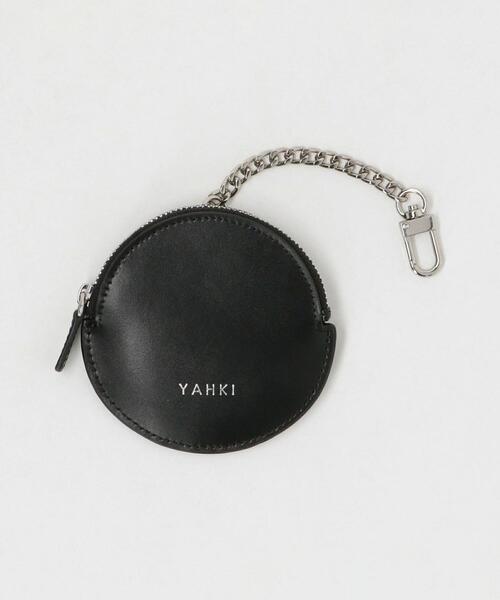 【別注】<YAHKI>レザーサークルコインケースチャーム