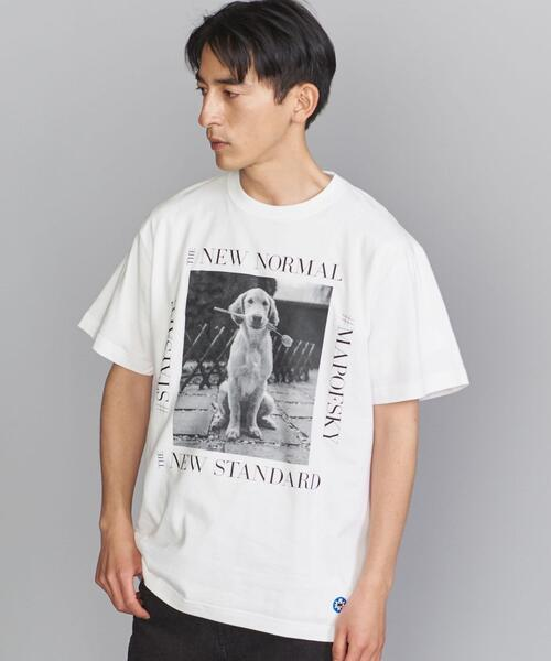 <MAP OF SKY(マップ オブ スカイ)> DOG T/Tシャツ