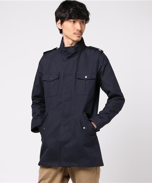 【サイズ交換OK】 sankyoオイルドクロス風フィールドジャケット(ステンカラーコート)|sankyo shokai(サンキョウショウカイ)のファッション通販, 総合ブライダル館:5642bdc3 --- blog.buypower.ng