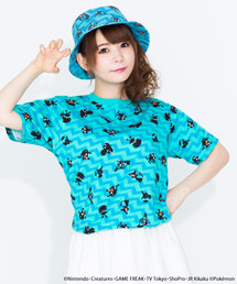 <ユニセックス>ポケモン / 総柄Tシャツ(Tシャツ/カットソー)