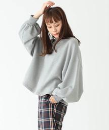 CAROLINA GLASER(カロリナ グレイサー)のCAROLINA GLASER / ボリューム スウェットシャツ(スウェット)