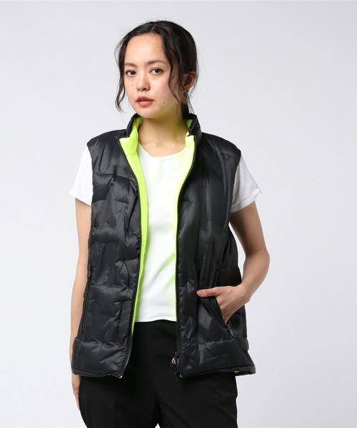 M★ Embossed Down Vest | WOMEN