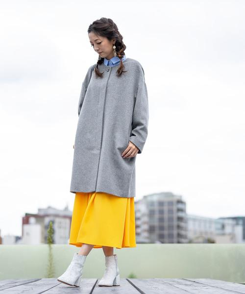 【有名人芸能人】 カシミヤウール ノーカラーコクーンコート もりのがっこう(その他アウター)|もりのがっこう(もりのがっこう)のファッション通販, ギャッベ専門店kavir:d3666dc3 --- tsuburaya.azurewebsites.net
