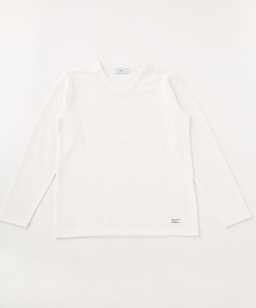 SLUB PILE LONG SLEEVE