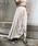 &g'aime(アンジェム)の「【&g'aime】ストリングフレアスカート(スカート)」|ライトベージュ