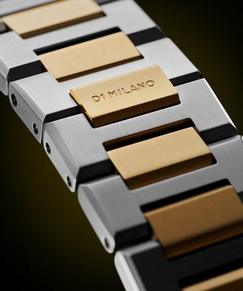 D1 MILANO(ディーワンミラノ)の「「D1 MILANO/ディーワン ミラノ」Ultra Thin Vintage ウルトラシン ヴィンテージ ステンレススチールバンド(腕時計)」|詳細画像