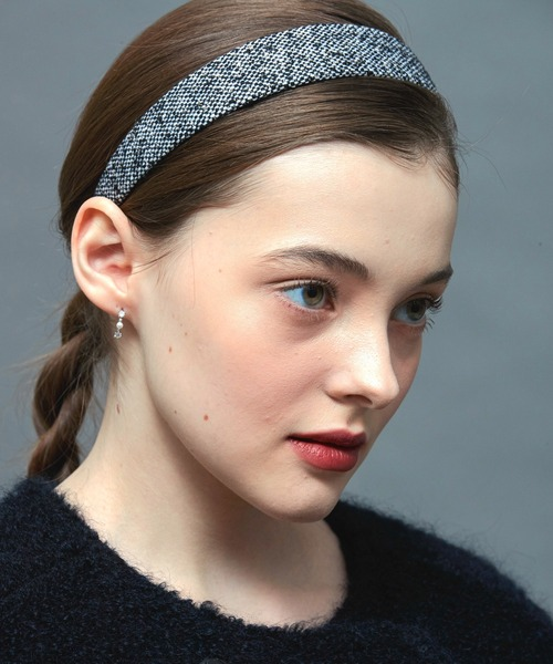 【VINTAGE HOLLYWOOD】CARRIE WIDE HAIRBAND / ヴィンテージハリウッド キャリー ワイド ヘアバンド