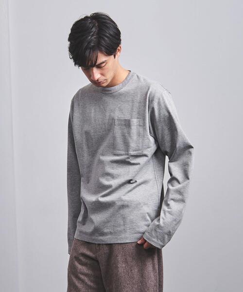 <District (ディストリクト) > ベーシック ロングスリーブ Tシャツ