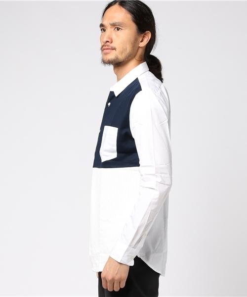 [2017AW商品]ニットジョイントクレイジーシャツ