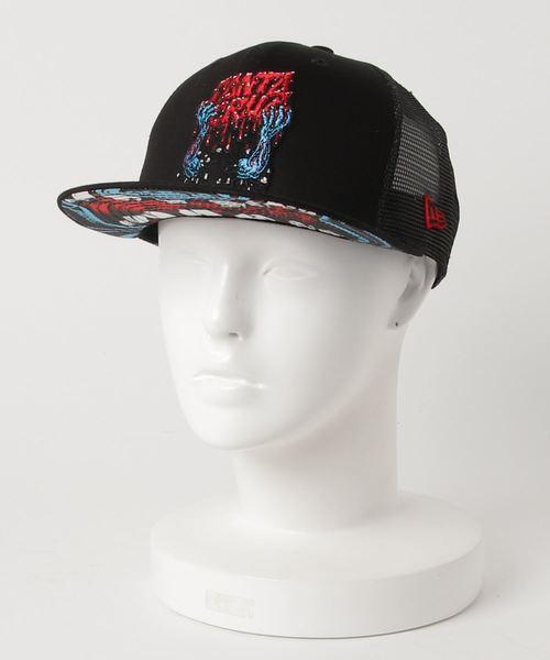 グレー 黒 ぼうし メンズ帽子 9FIFTY レディースキャップ メンズキャップ new era レディース帽子 白 メッシュキャップ オリジナルフィット ブラック NEW ERA SANTA CRUZ newera コラボ ニューエラ ニューエラキャップ ホワイト コラボキャップ サンタクルーズ 帽子