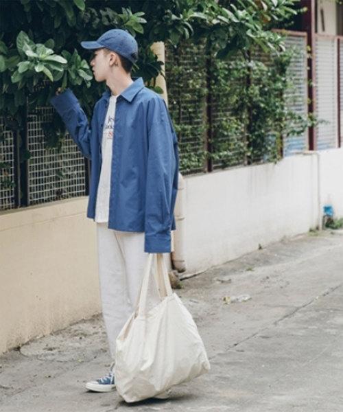 【MGV】スモーキートーンオーバーサイズシャツ