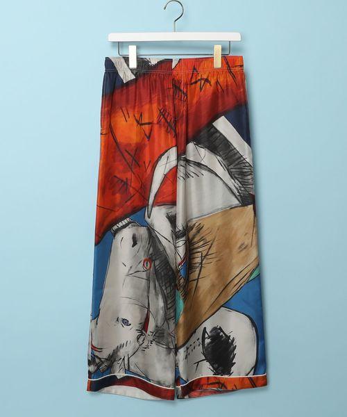 メゾンエウレカ MAISON EUREKA / ワイドパンツ Horse Silk Wide Pants