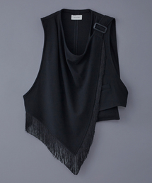 BED J.W. FORD(ベッドフォード)のBED J.W. FORD Fringe Scarf Vest (19AW-B-VT01)(ベスト)