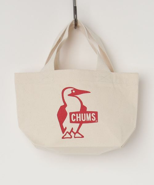 CHUMS(チャムス)の「Booby Mini Canvas Tote(トートバッグ)」|レッド