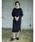 CRAFT STANDARD BOUTIQUE(クラフトスタンダードブティック)の「クルーネックケーブルニットワンピース●(ワンピース)」 詳細画像