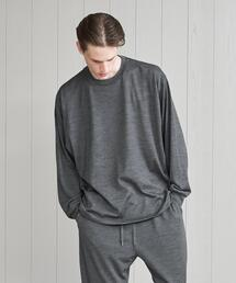<koti>MT.BREATH WOOL CREW NECK LONG SLEEVE T-SHIRT/Tシャツ.