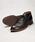 MR.OLIVE(ミスターオリーブ)の「【撥水レザー】ウォータープルーフ ウォッシャブル レザー /チャッカー ブーツ(ブーツ)」|ブラック