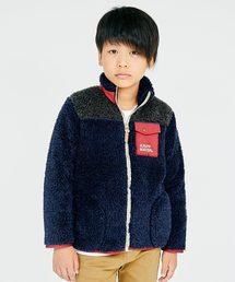 KRIFF MAYER Kid's Collection(クリフメイヤーキッズコレクション)のシャギーボアフリースジャケット(その他アウター)