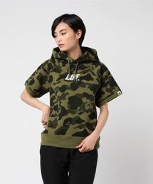 1ST CAMO S/S PULLOVER HOODIE L(パーカー)