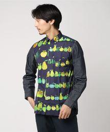 JUNYA WATANABE MAN 19SS 綿ブロードリンゴ柄プリントシャツ(シャツ/ブラウス)