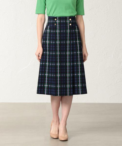 速くおよび自由な 【セール】マルチチェックスカート(スカート) AMACA(アマカ)のファッション通販, タキザワムラ:66542424 --- 888tattoo.eu.org