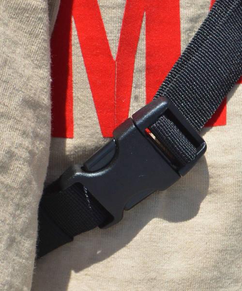 Dickies/ ディッキーズ CORDURAロゴ刺繍入り 配色ミニショルダーウエストバッグ