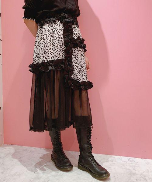 『4年保証』 フリルスカート(スカート)|lilLilly(リルリリー)のファッション通販, 55%以上節約:22843396 --- tsuburaya.azurewebsites.net