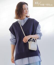 [ XS / H148-155cm ]★★SC Vネック ニット ベスト