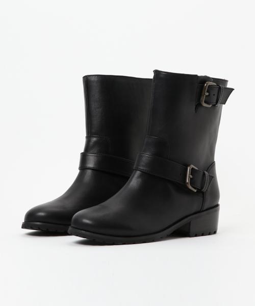 To b. by agnes b.(トゥービーバイアニエスベー)の「WD73 CHAUSSURES エンジニアブーツ(ブーツ)」 ブラック