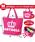 BABYDOLL(ベビードール)の「通販限定★レッスンバッグにも使える♪王冠ロゴトートバッグ/Mサイズ横型7311(トートバッグ)」|詳細画像