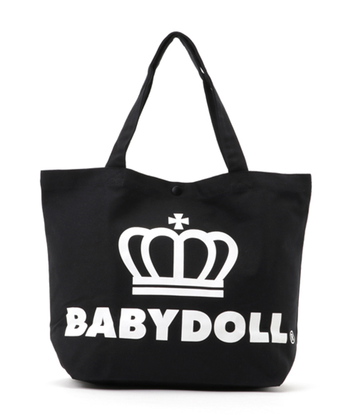 BABYDOLL(ベビードール)の「通販限定★レッスンバッグにも使える♪王冠ロゴトートバッグ/Mサイズ横型7311(トートバッグ)」|その他4