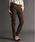 AVIREX(アヴィレックス)の「avirex/ アヴィレックス/ L-SATIN STRETCH SIDE ZIP SKINNY PANTS/ サテンストレッチ サイドジップ スキニーパンツ(カーゴパンツ)」|ブラウン