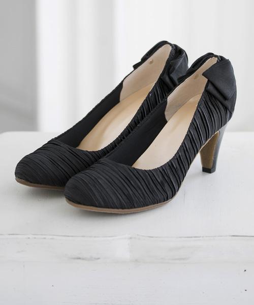 高級ブランド forma,フォルムバックリボンプリーツパンプス(パンプス)|form forma(フォルムフォルマ)のファッション通販, 限定版:2ca2fb9b --- blog.buypower.ng