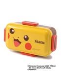 【pokemon】ピカチュウ ふわっと弁当箱 (カトラリー)
