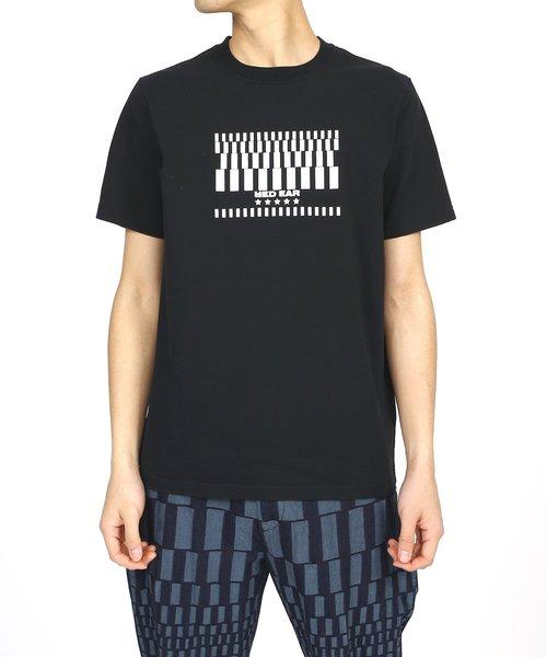 代引き手数料無料 GEOMETRIC PRINT T-SHIRT【RED/ EAR【RED】/ 192632 R011R(Tシャツ Smith/カットソー)|Paul Smith(ポールスミス)のファッション通販, スカガワシ:bcbf990d --- genealogie-pflueger.de