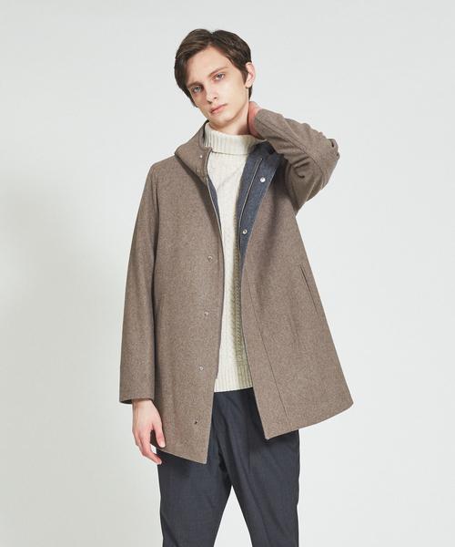消費税無し メルトンフーデットコート(ステンカラーコート) ABAHOUSE(アバハウス)のファッション通販, ORBIT:34c9bba3 --- panvelflatsforsale.com