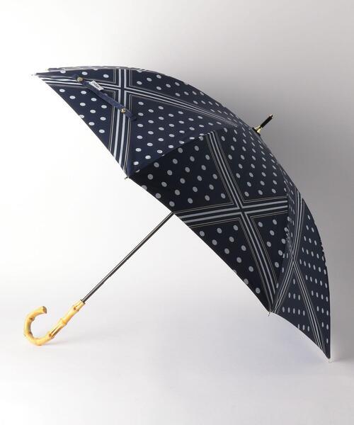 <w.p.c>スカーフドット バンブーハンドル 日傘