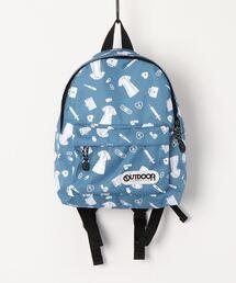 【OUTDOOR PRODUCTS】 KIDSチアフルデイパックグレイッシュブルー
