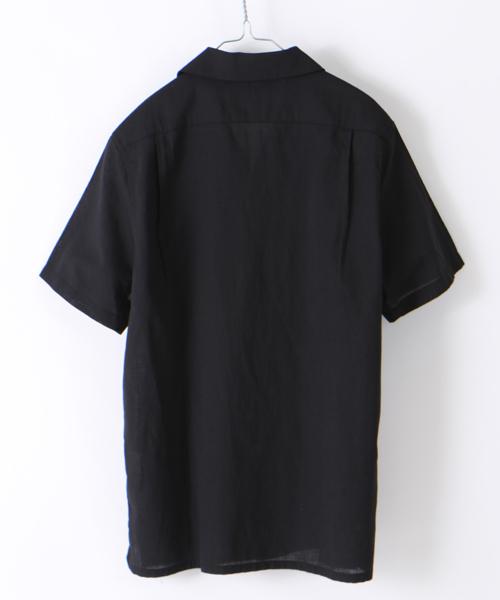COOLMAX オープンカラー ショートスリーブ シャツ