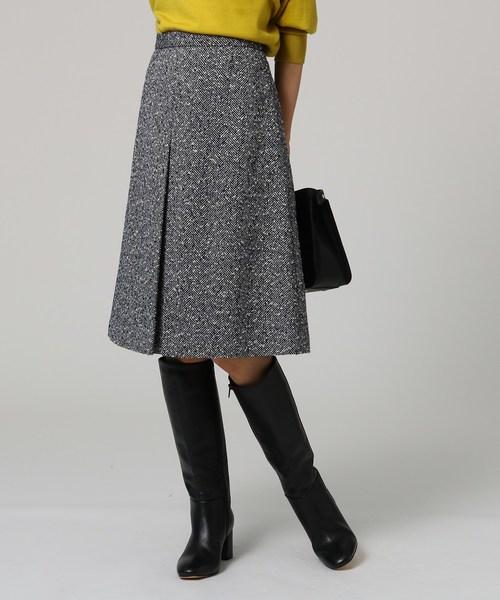 2019年新作 ウール混ヘリンボンスカート(スカート)|UNTITLED(アンタイトル)のファッション通販, 木材倉庫 ムック:986736bf --- 5613dcaibao.eu.org