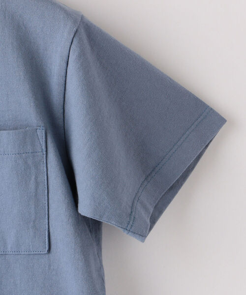 ARCH&LINE(アーチアンドライン)の「【SHIPS KIDS別注】ARCH&LINE:TAKE IT EASY 刺繍 TEE(110~145cm)(Tシャツ/カットソー)」|詳細画像