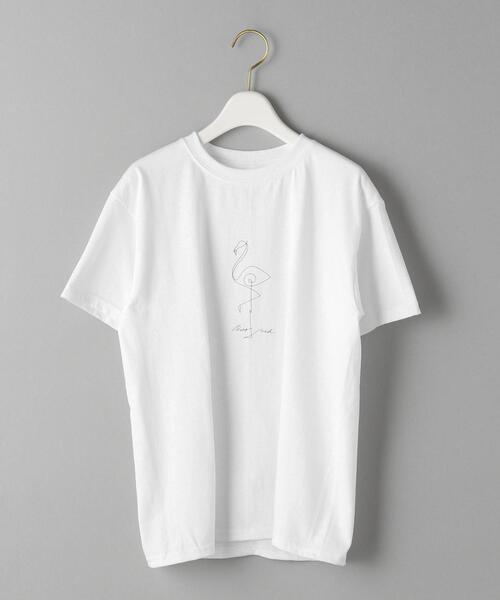 【別注】<GOOD ROCK SPEED>ハンドドローイングプリントTシャツ