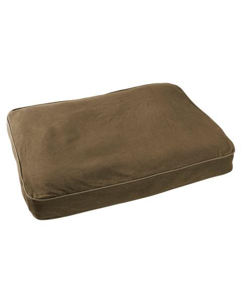 プレミアム·デニム·ドッグ·ベッド、長方形 スモール