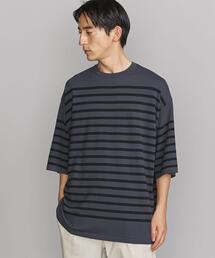BY オーバーサイズド ナバル ニットTシャツ
